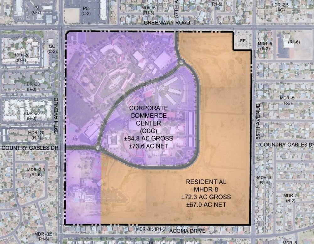 image about University of Arizona Campus Map Printable named Arizona Christian College in the direction of flow in the direction of fresh new Glendale campus