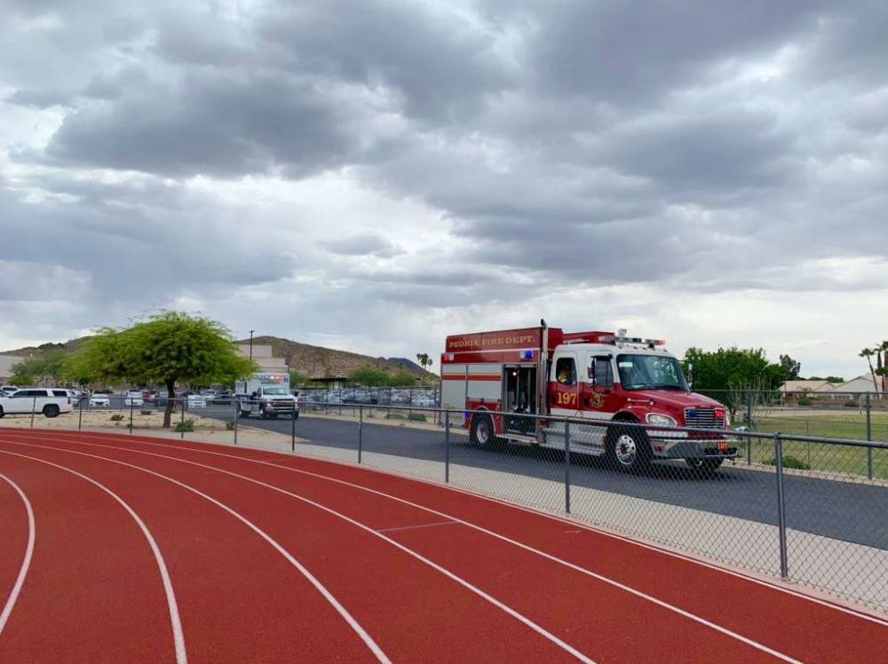 Glendale police, fire hold mock crash drills at Mountain